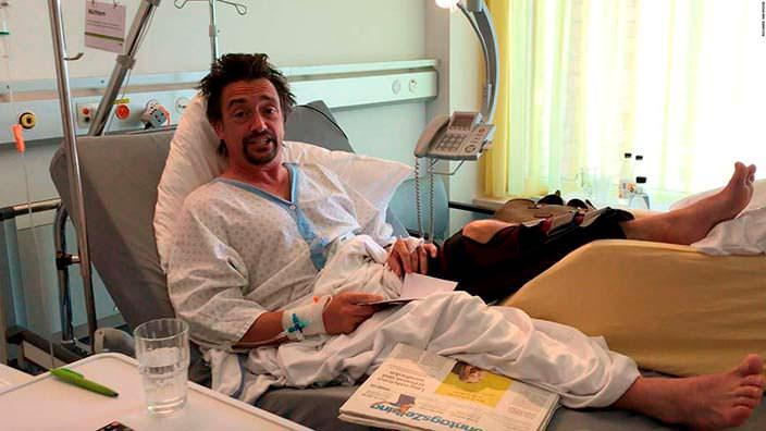 Ричард Хаммонд в больнице после аварии на Rimac Concept One