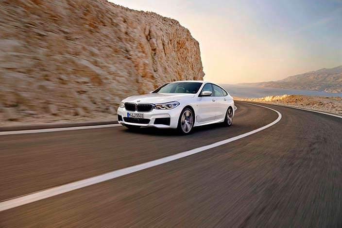 Хэтчбек BMW 6-Series GT 2018 года