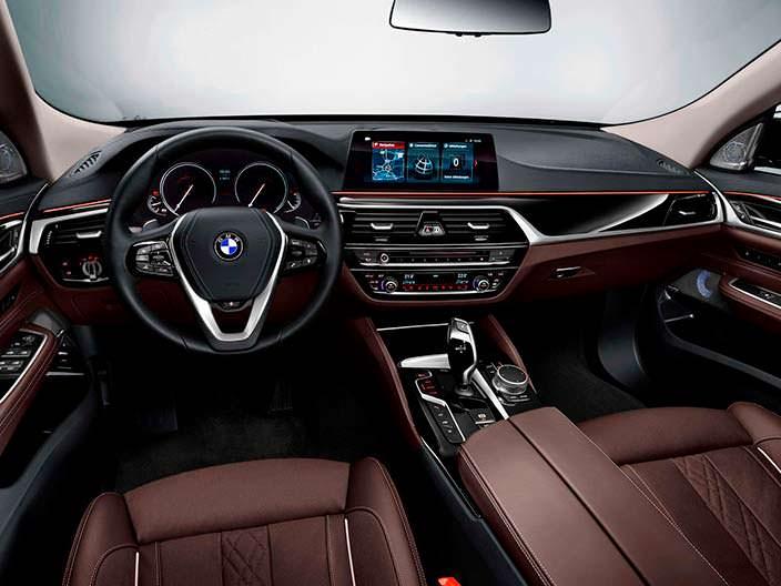 Фото салона BMW 6-Series GT 2018 года