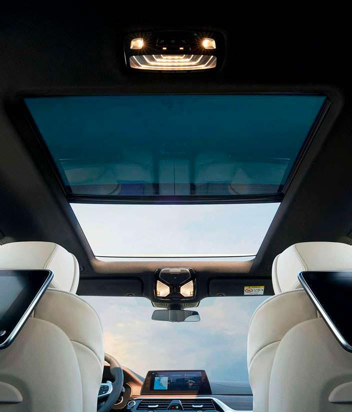Панорамная крыша BMW 6-Series Gran Turismo