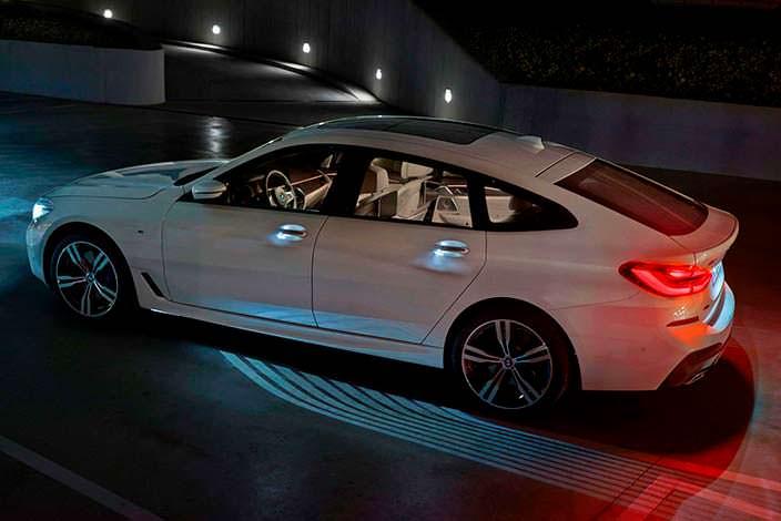 Подсветка BMW 6-Series Gran Turismo
