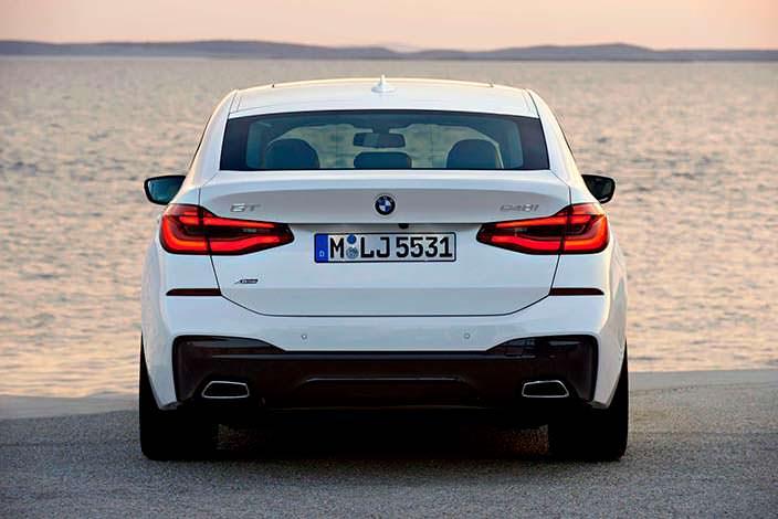 Лифтбэк BMW 6-Series Gran Turismo