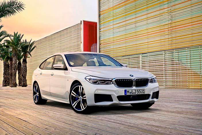 Хетчбэк BMW 6-Series Gran Turismo