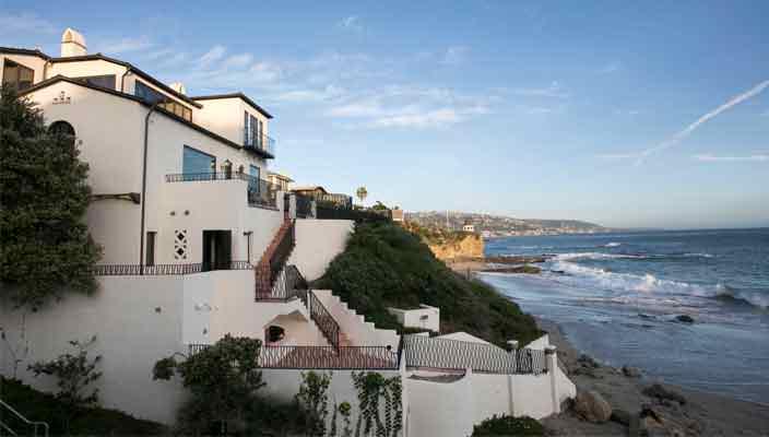 Дом Дайан Китон в Лагуна-Бич на пляже продается | фото, цена