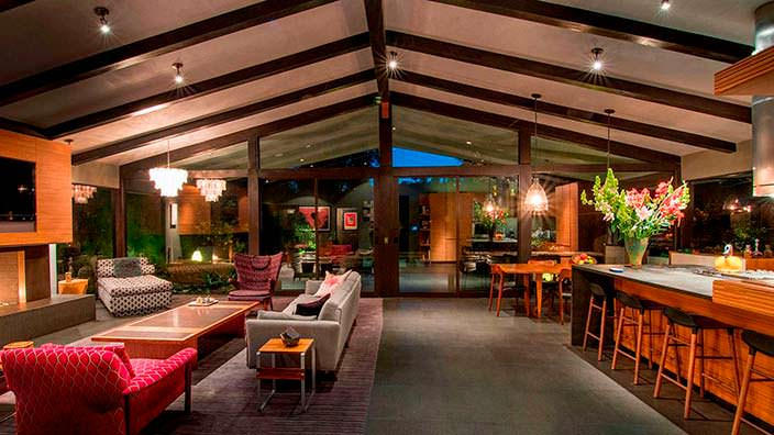 Дизайн интерьера в стиле модерн. Дом Джона Ледженда