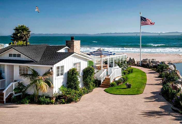 Фото   Пляжный дом в Санта-Барбаре