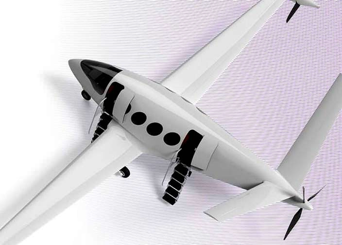 Электрический самолет Eviation Alice: дальность полета 965 км