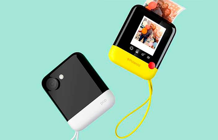 Polaroid Pop: цифровой фотоаппарат мгновенной печати