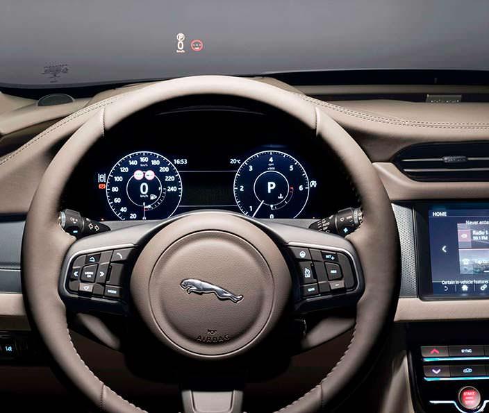 Руль Jaguar XF Sportbrake 2018