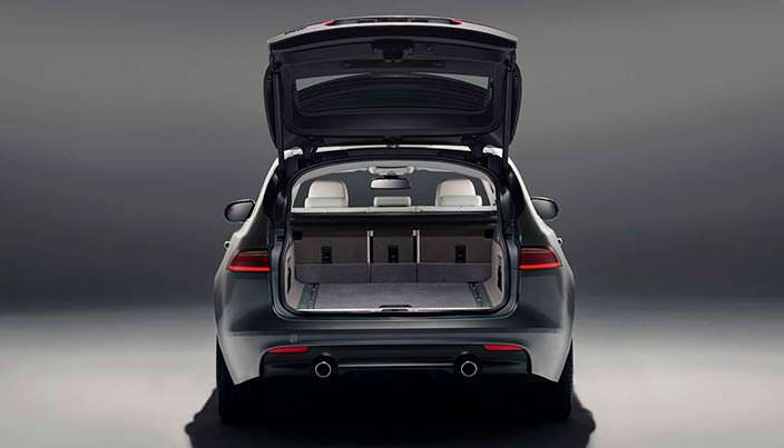Багажник Jaguar XF Sportbrake 2018 года