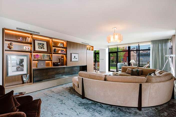 Двухэтажная квартира Джона Бон Джови в Нью-Йорке