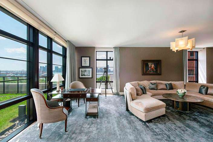 Двухэтажная квартира-дуплекс Джона Бон Джови на Манхэттене