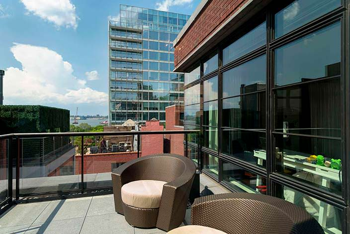 Панорамная терраса в квартире Джона Бон Джови