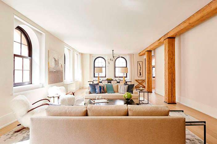 Фото | Квартира Джейка Джилленхола в Нью-Йорке