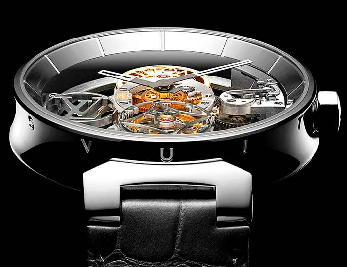 Louis Vuitton Tambour Moon Flying Tourbillon «Poinçon De Genève»