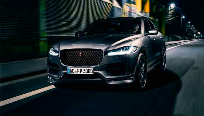 Jaguar F-Pace получил тюнинг от AC Schnitzer   фото