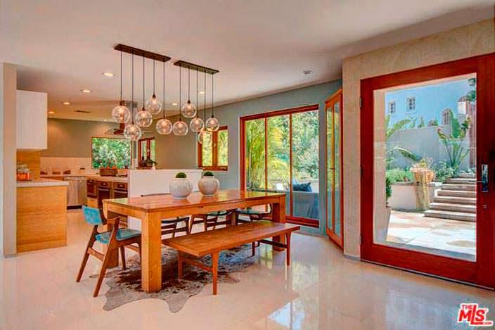 Дизайн кухни-столовой в доме Наташи Бедингфилд