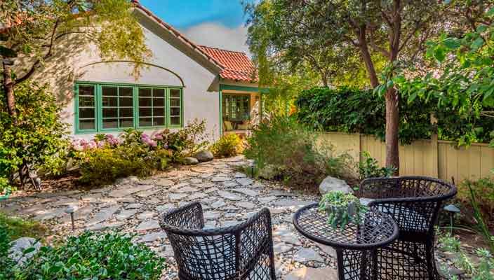 В Брентвуде продают дом писателя Рэймонда Чандлер | фото, цена