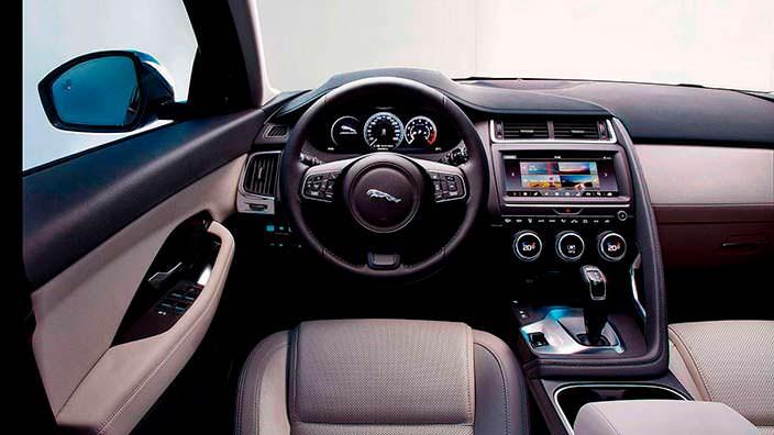 Фото салона Jaguar E-Pace