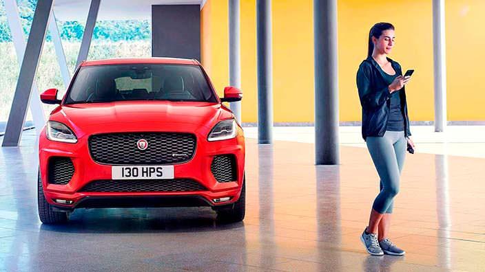 Новый Jaguar E-Pace. Дизайн от F-Type