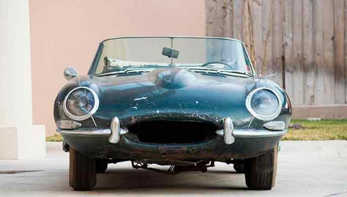 На eBay продают родстер Jaguar E-Type 1963 г. под реставрацию