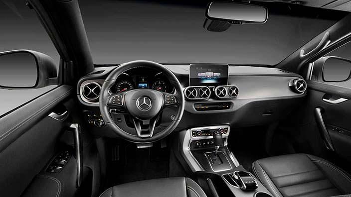 Фото   Салон Mercedes-Benz X-Class