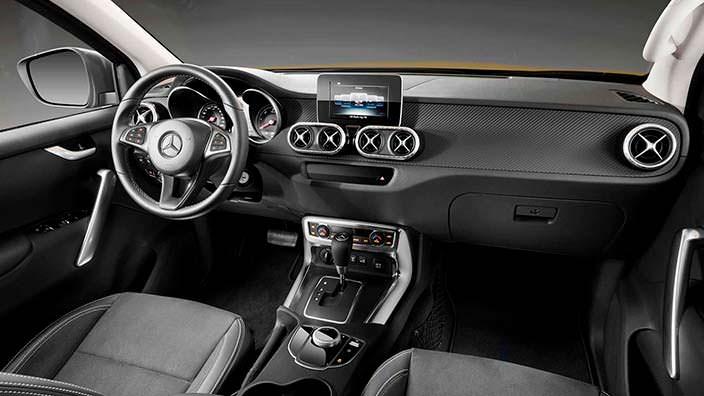 Фото   Интерьер Mercedes-Benz X-Class