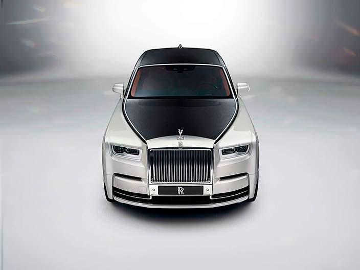 Новый Rolls-Royce Phantom 2018
