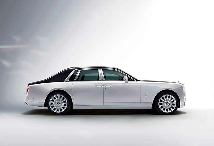 Новый Rolls-Royce Phantom восьмого поколения