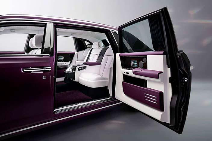 Фото салона Rolls-Royce Phantom восьмого поколения
