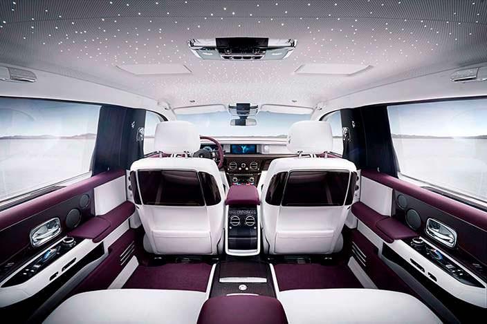 Фото   Салон Rolls-Royce Phantom 2018