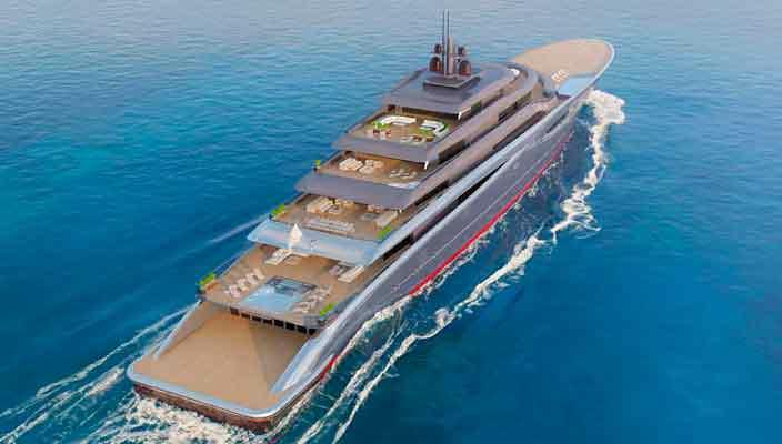 Яхтенный дизайнер Теодорос Фотиадис показал концепт Vitality