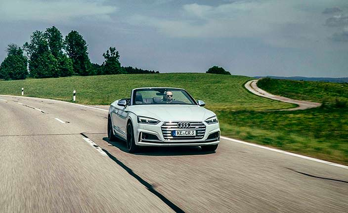 Фото | Тюнинг 2017 Audi S5 Cabriolet от ABT Sportsline
