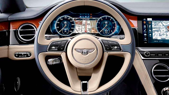 Руль Bentley Continental GT 2018