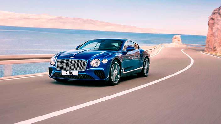 Bentley Continental GT третьего поколения