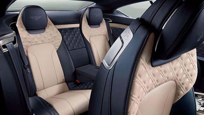 Задние сиденья Bentley Continental GT 2018