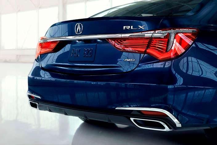 Дизайн Acura RLX 2018 года