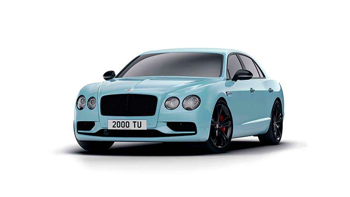 Роскошный седан Bentley Flying Spur V8 S Black Edition