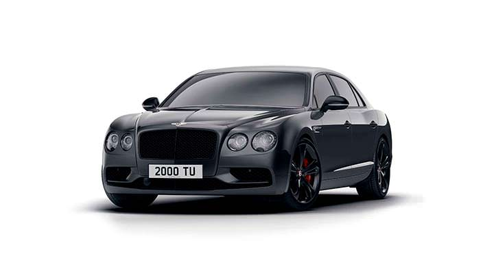 Шикарный седан Bentley Flying Spur V8 S Black Edition