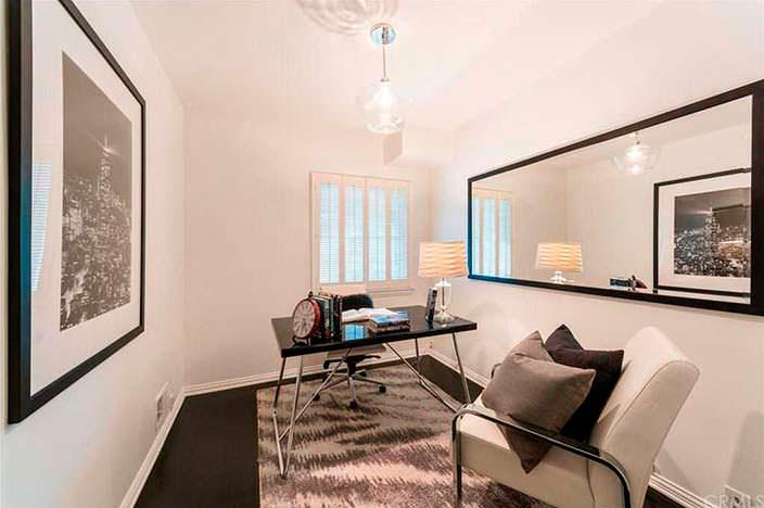 Дизайн кабинета в доме Лорен Конрад