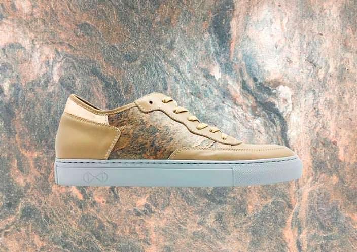 Каменные кроссовки. 100% ручное производство в Италии