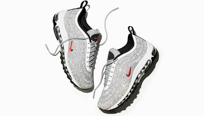Nike выпустил кроссовки с кристаллами Сваровски