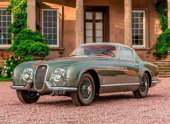 Ретро-купе Jaguar XK120 от Pininfarina 1954 года выпуска