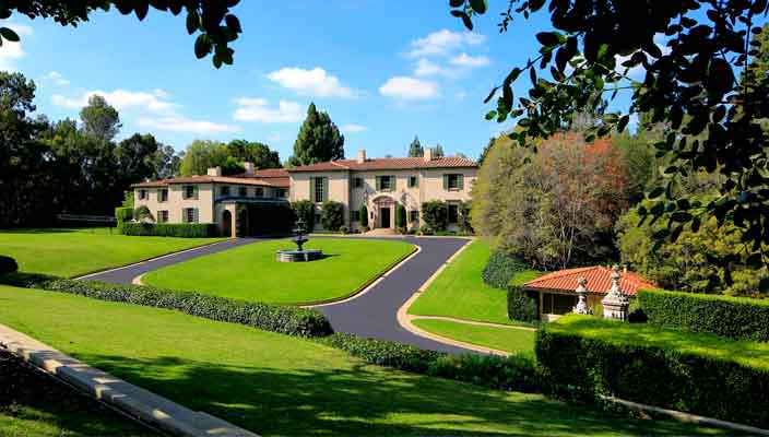 В Холмби-Хиллз продается самый дорогой дом за $180 млн
