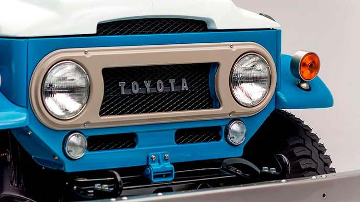 Оригинальная Toyota Land Cruiser FJ45LV 1967 года выпуска
