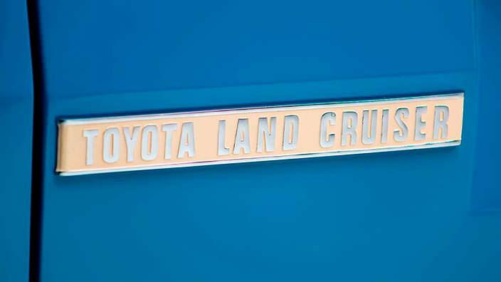 Табличка Toyota Land Cruiser FJ45LV