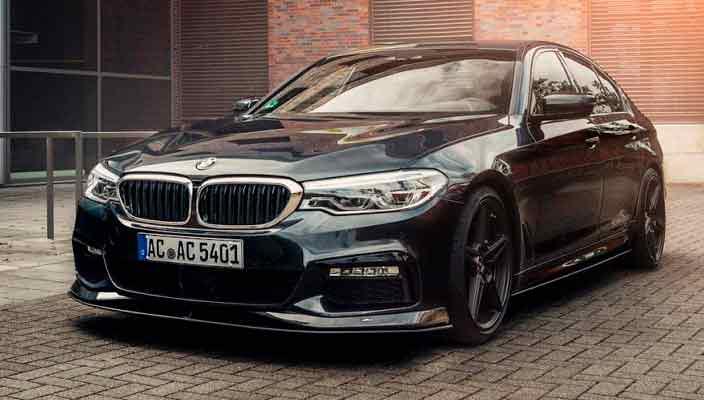 Новая BMW 5-Series получила тюнинг от AC Schnitzer   фото