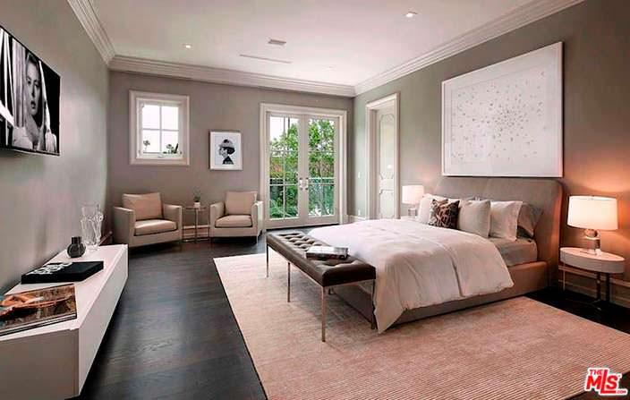 Гостевая спальня в доме боксера Флойда Мейвезера