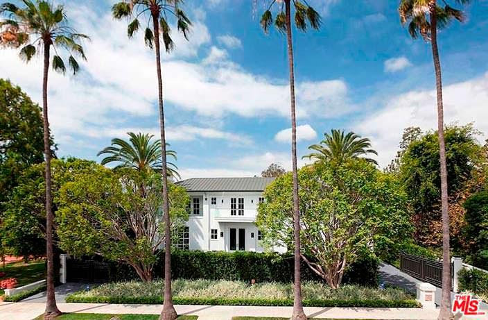 Дом в стиле модерн Флойда Мейвезера в Лос-Анджелесе