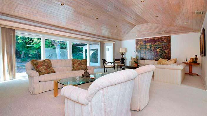 Дизайн дома в стиле ранчо в Бель-Эйр